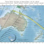 Start time of Australian total solar eclipse