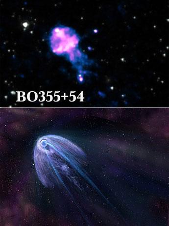 Pulsar B0355+54