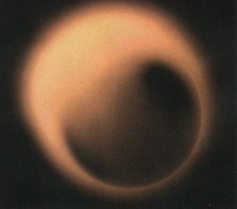 black hole silhouette