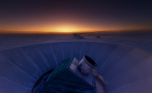 B-mode discovery telescope