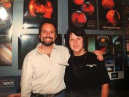 Barbara Wilson with Steve O'Meara