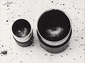 It may seem only a small increase to go from a 1¼-inch to a 2-inch eyepiece barrel, but the latter has an opening 70 percent larger in diameter and almost three times the area of the former.
