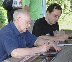 Alan Bean and Andrew Chaikin