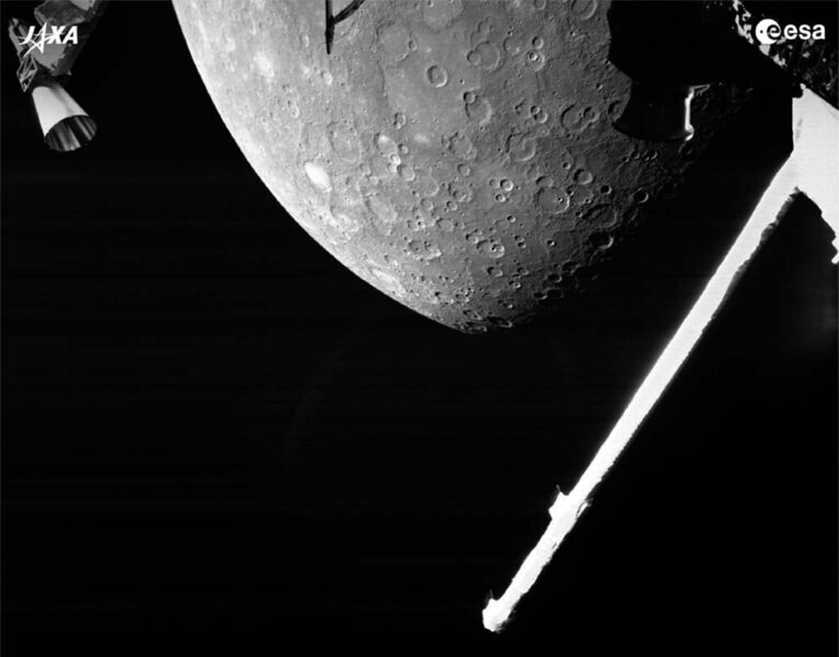 Mercury, imaged by BepiColombo