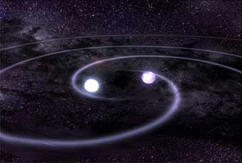 Binary white dwarf