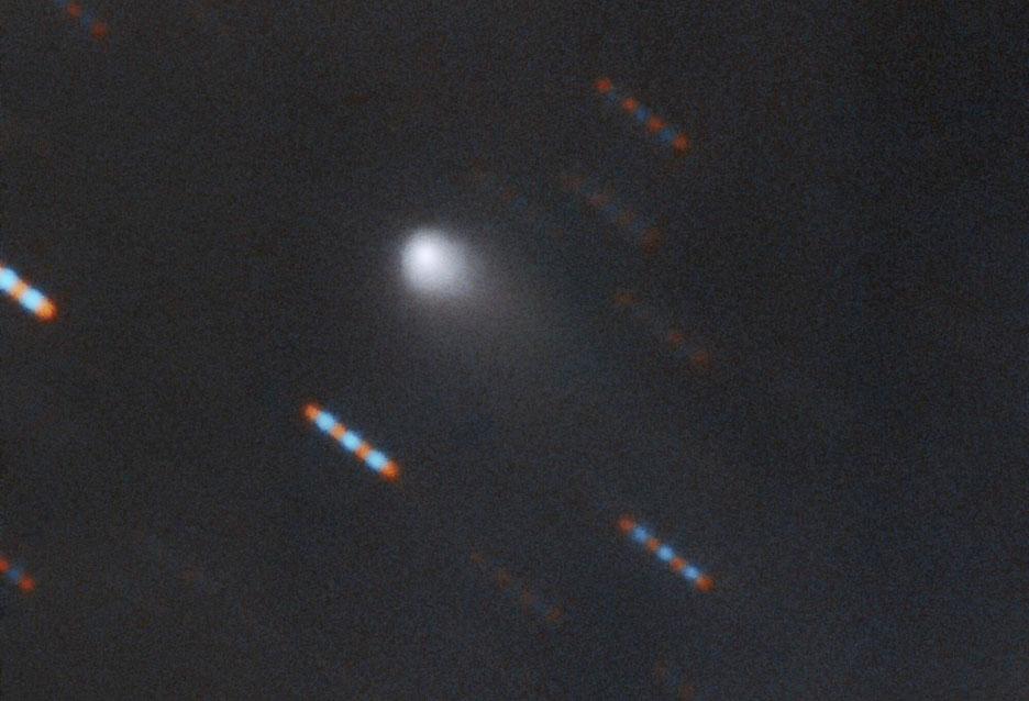Comet closeup