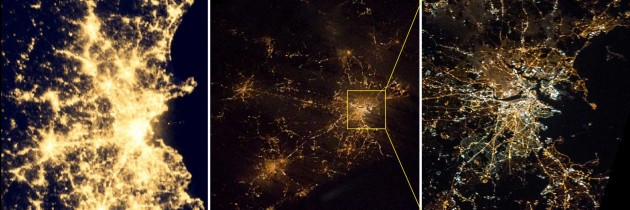 Boston from orbit