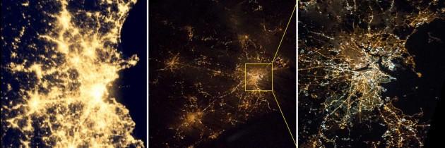 Boston from orbit