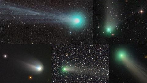 Comet Spotting in 2015