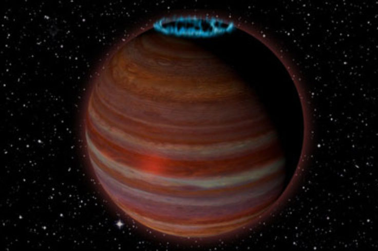 Brown Dwarf with Aurora