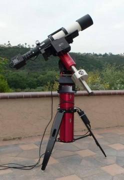 Equipment for Don Bruns' relativity testt