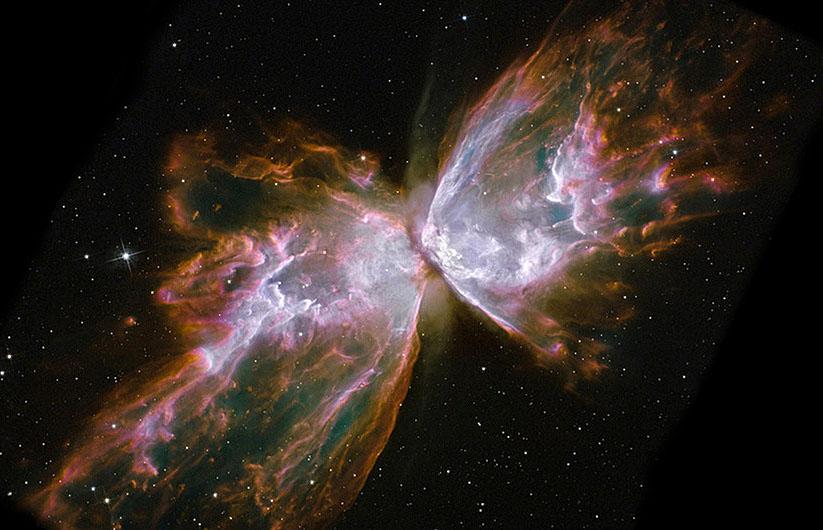 Cosmic bow tie