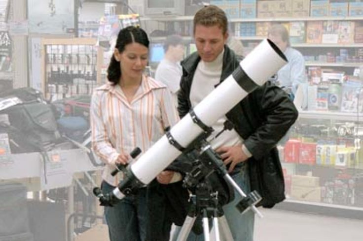 Buying your first telescope