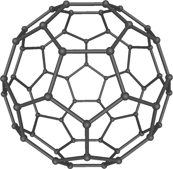 Buckminsterfullerene structure