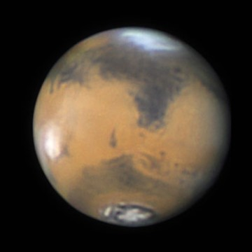 Mars North Polar Cap