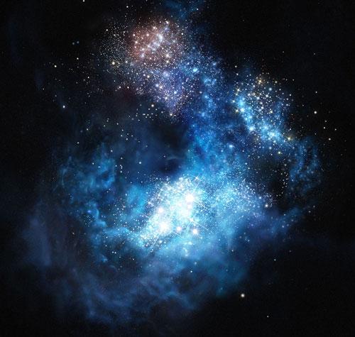 CR7, a Lyman-alpha galaxy