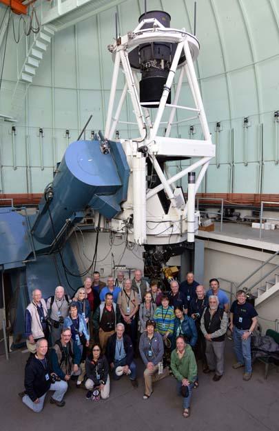 Chile tour with CTIO 1.5-m telescope