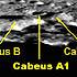 Telescopic view of Cabeus A1