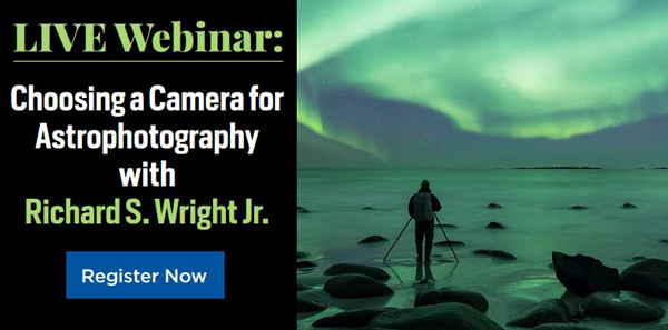 Choosing a Camera for Astrophotography - Live Webinar