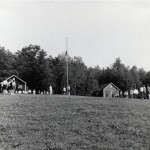 During the time of August's Perseid meteor shower in 1967, flag-lowering ceremonies at Camp Skycrest in Honesdale, Pennsylvania, were also a time to check sky conditions. For too many nights it was cloudy, but those who were there still remember the one night that it was clear!