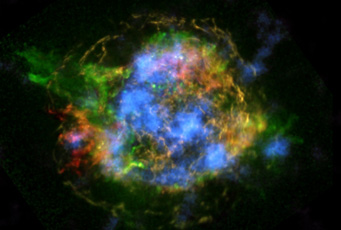 Cassiopeia A in X-rays