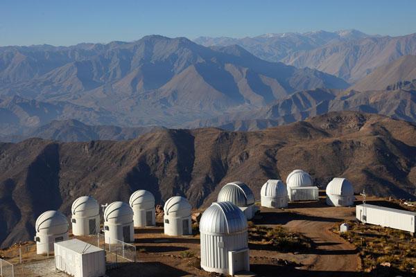 Cerro Tololo in Chile
