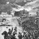 Jackson's attack in Chancellorsville