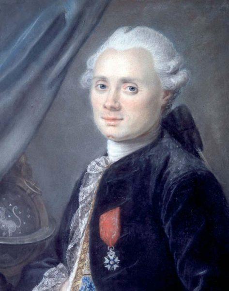 Charles Messier portrait