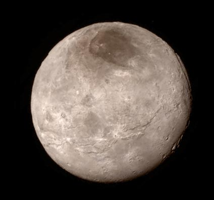 Charon close-up from July 13