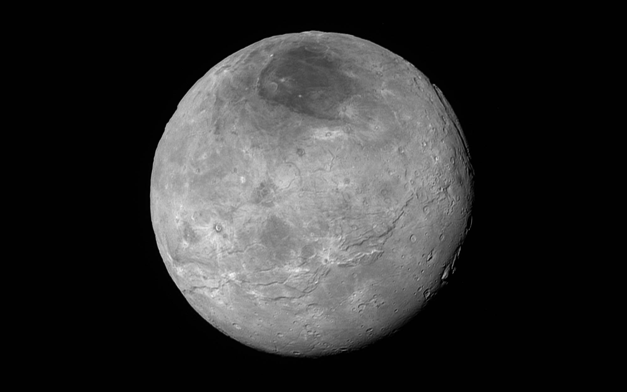 High-resolution view of Charon