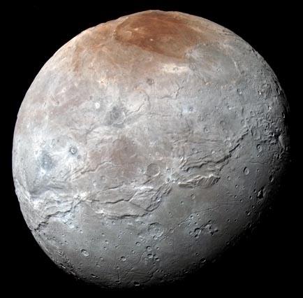 Charon hi-res color globe