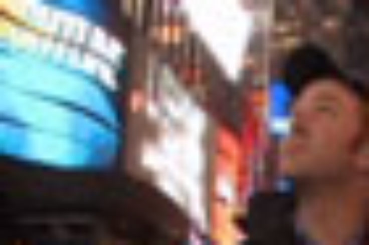 Cheney in Times Square