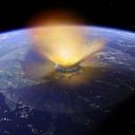 Giant impact 65 million years ago