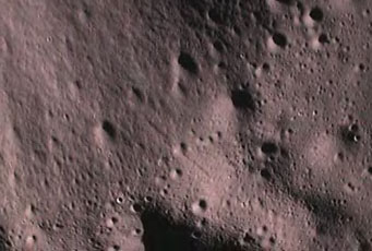 Impace from Indian lunar probe