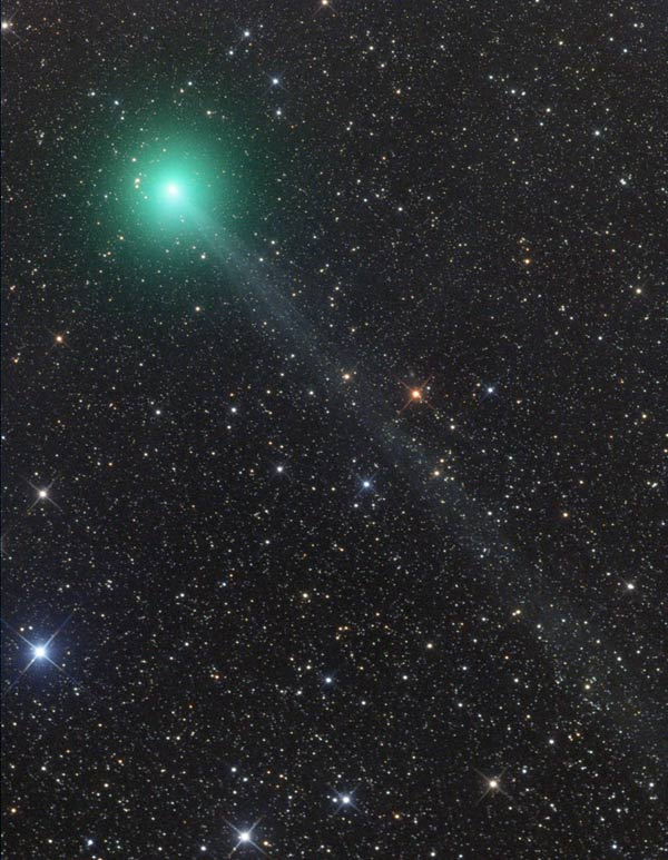 Comet Lovejoy, C/2014 Q2, on Nov. 27, 2014