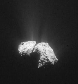 Comet 67P on October 18, 2015