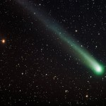 Comet Lovejoy  100 Stacked Images