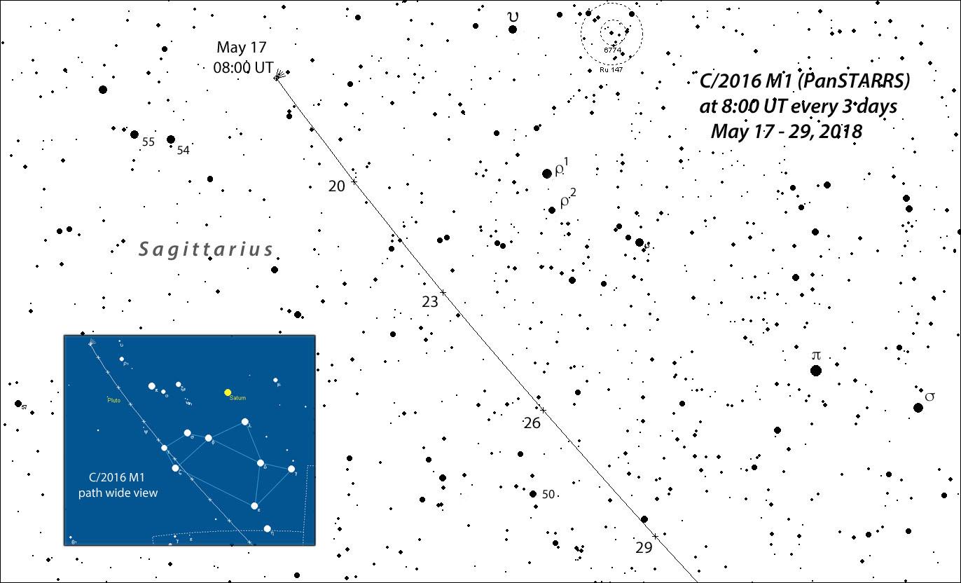 Spring's promising comet