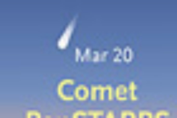 Comet PanSTARRS in March 2013