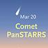 Comet PanSTARRS in March 2013
