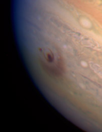 1994 Jupiter impact seen by Hubble