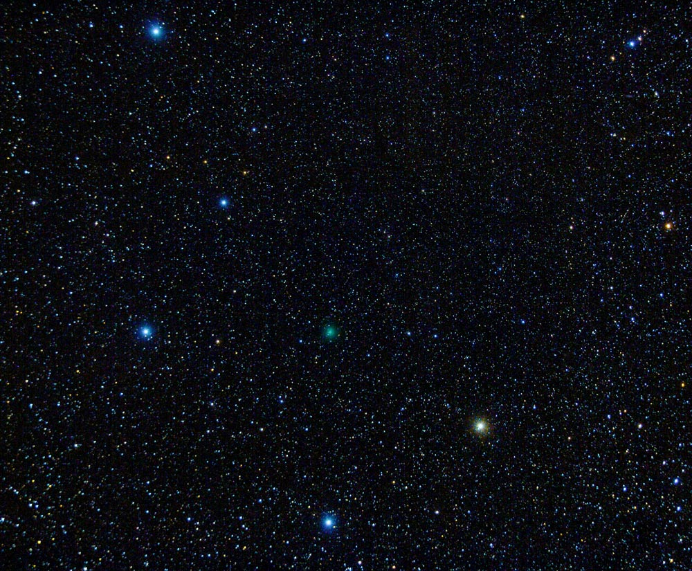 Comet 41P / T-G-K in bowl of Big Dipper, March 24, 2017