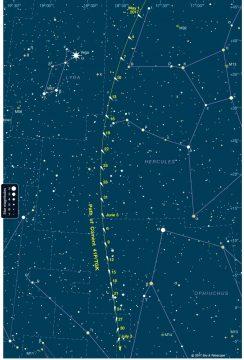 Finder Chart for Comet 41P/TGK