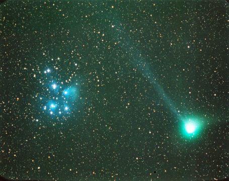 Comet Machholz in 2005