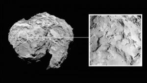 Site J on Comet 67P