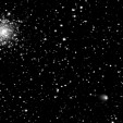 Comet with cluster M107