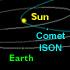 Comet ISON's path