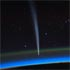 Comet Lovejoy from the ISS