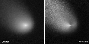 Hubble's view of Comet Siding Spring
