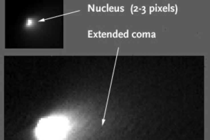 HiRISE image of Comet Siding Spring